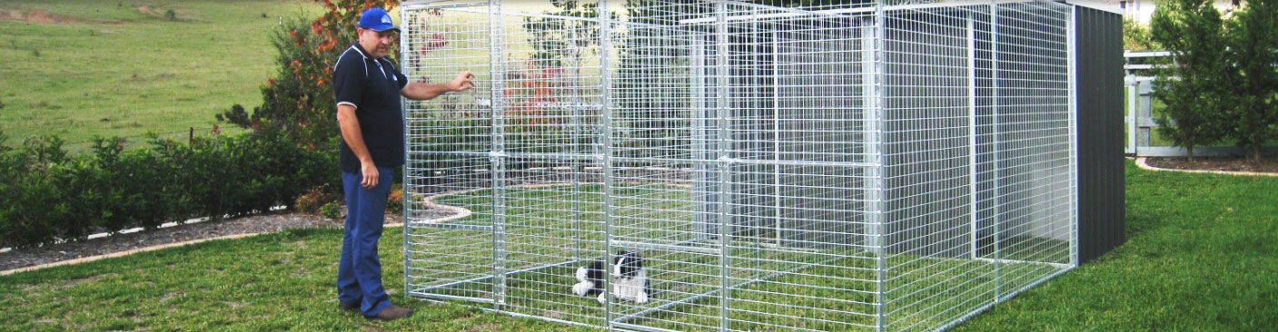 Dog Pen Wire Panels Products in NSW | Col Western Sheds