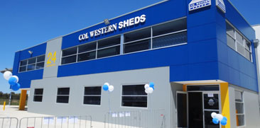 Col Western Sheds Office