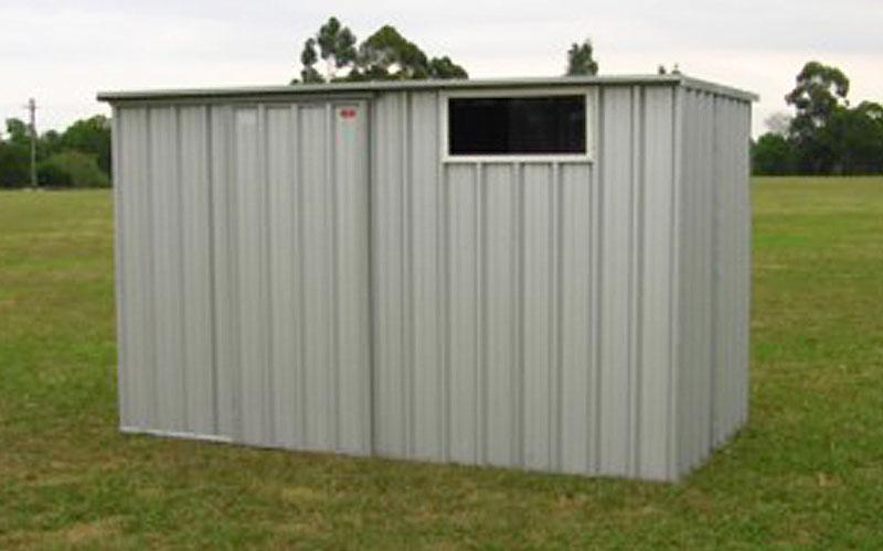 Flat Roof Sheds. 1
