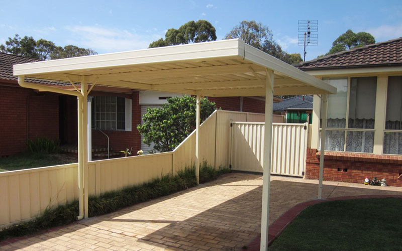Boxbeam Frame Carports