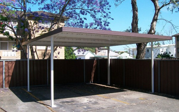 Carports With Boxbeam Frame Col Western Sheds