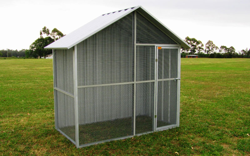 Affordable Economy Aviaries Col Western Sheds