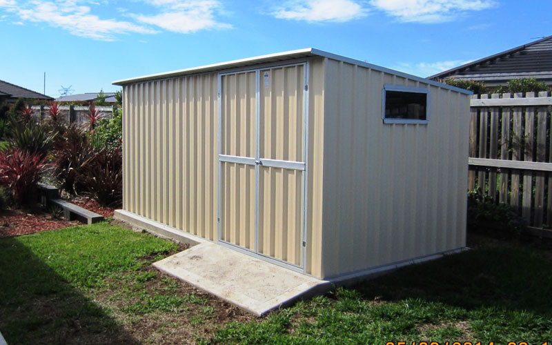 Small big and custom size garden sheds col western sheds for Build your own barn online